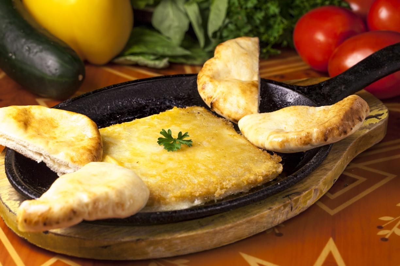 Saganaki (Greek Cheese)