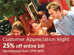 Customer Appreciation Night