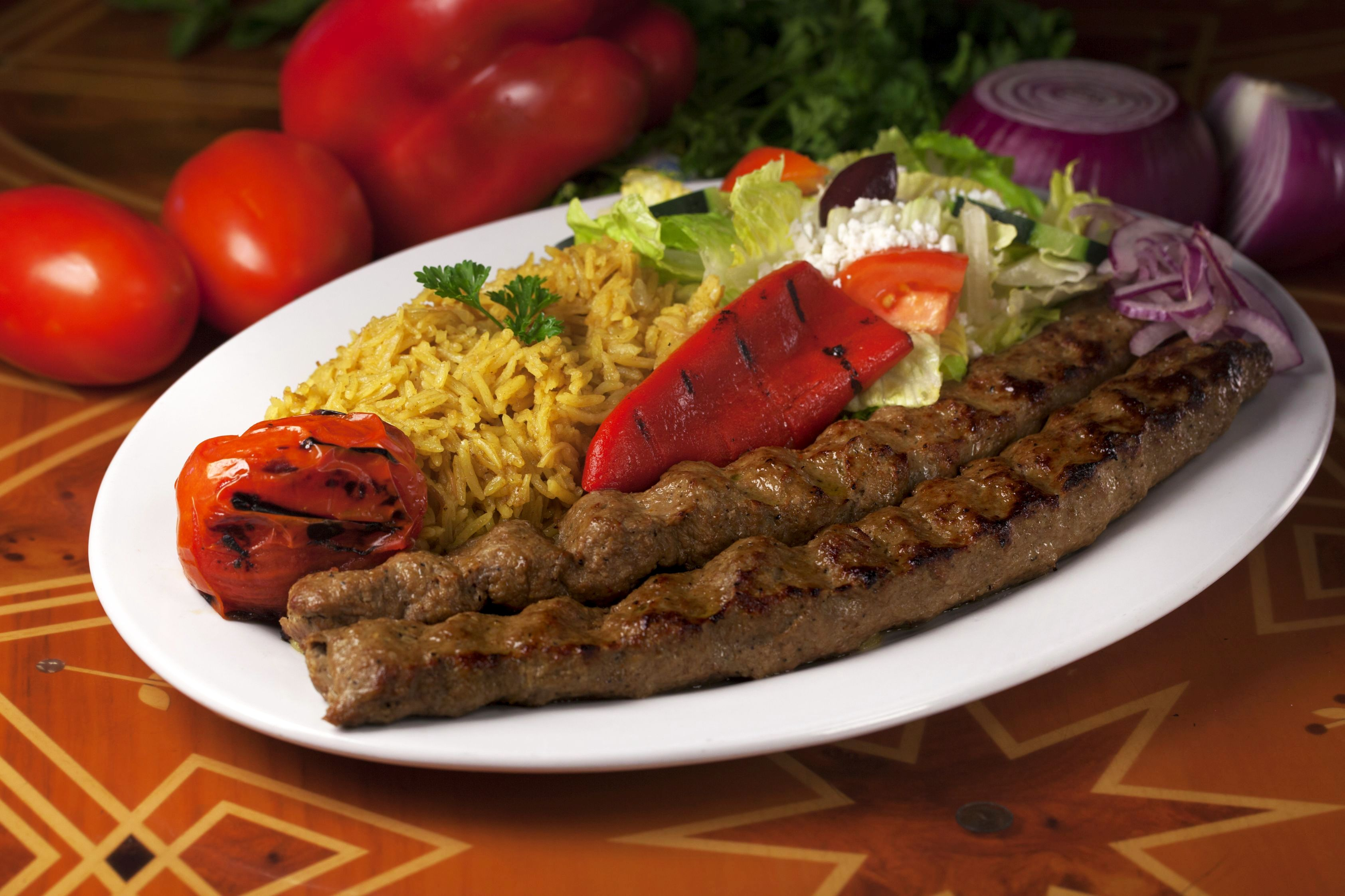 Panini Cafe Chicken Kabob Recipe
